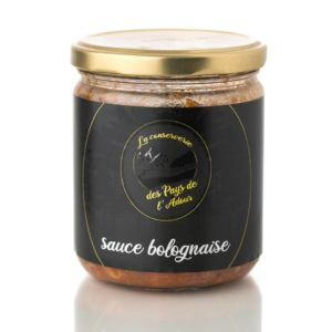 Conserverie Pays de l'Adour - Sauce bolognaise